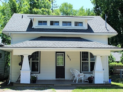Crystal Beach Vacation Property Rental - The Garden Cottage