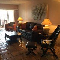 Florida Vacation Rentals by Owner - Treasure Island Florida - Sanctuary Condo - Living Room