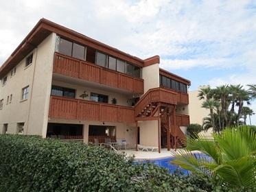 Florida Vacation Rentals by Owner - Treasure Island Florida - Sanctuary Condo - Back of Building (2)