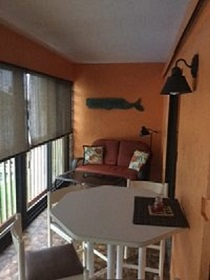 Florida Vacation Rentals by Owner - Treasure Island Florida - Sanctuary Condo - Balcony