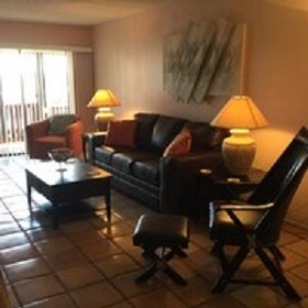 Florida Vacation Rentals by Owner - Treasure Island Florida - Sanctuary Condo - Living Room