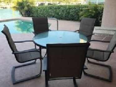Florida Vacation Rentals by Owner - Treasure Island Florida - Sanctuary Condo - Patio
