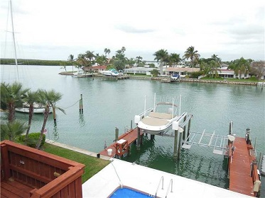 Florida Vacation Rentals by Owner - Treasure Island Florida - Sanctuary Condo - View from balcony